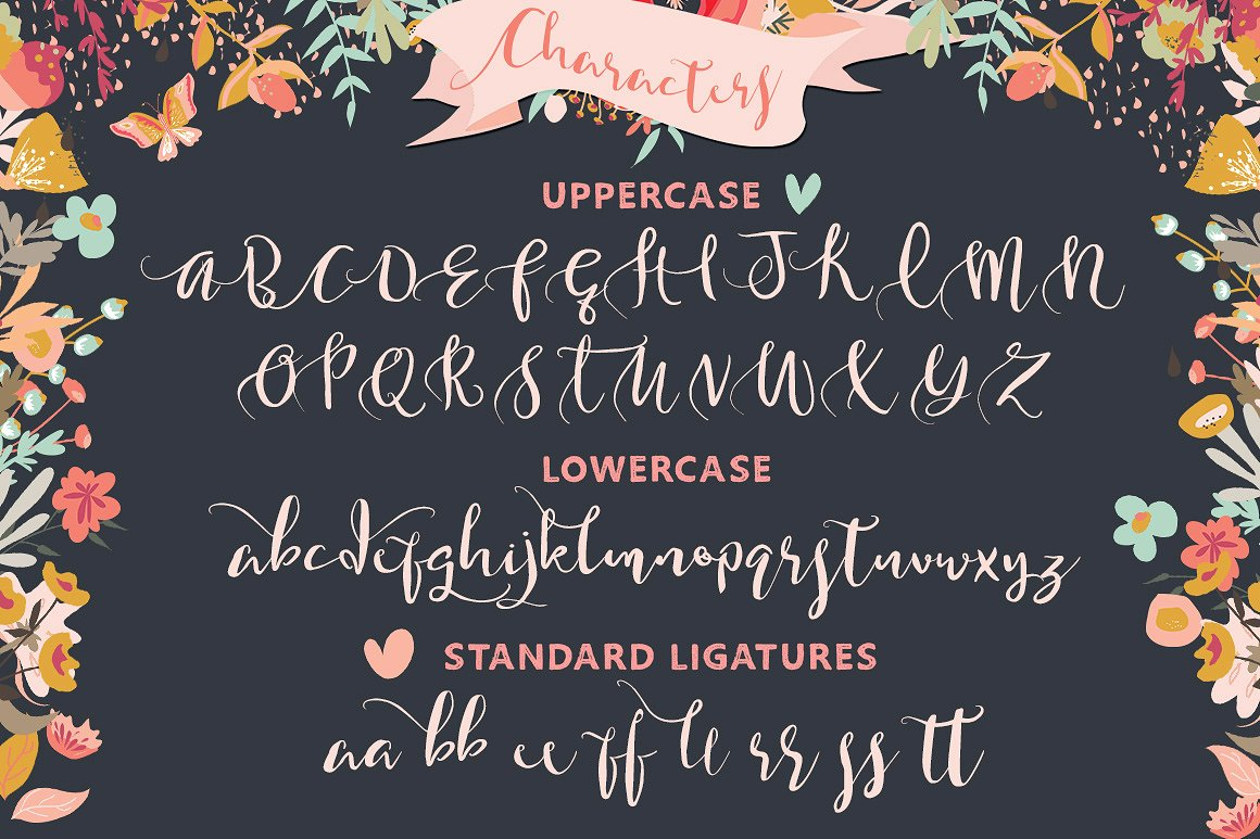 Gorgeously You Modern Calligraphy Script Font